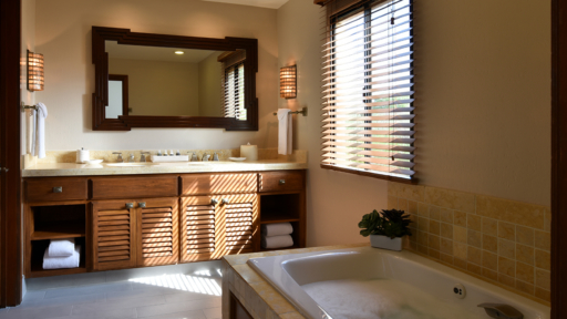 modern spa suite at miraval resort & spa