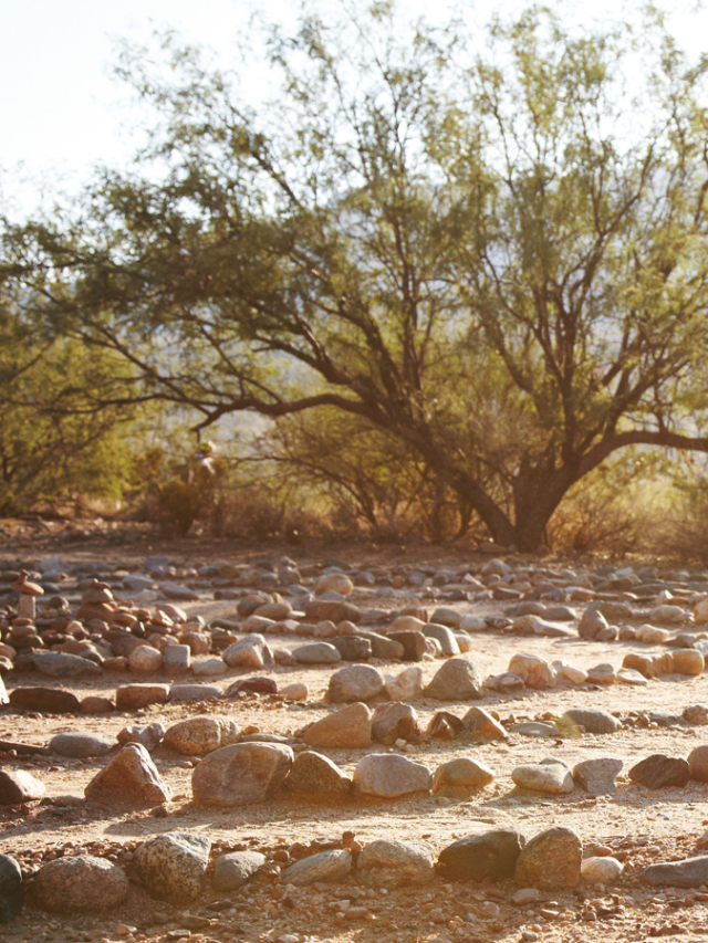 miraval arizona resort & spa labyrinth walk