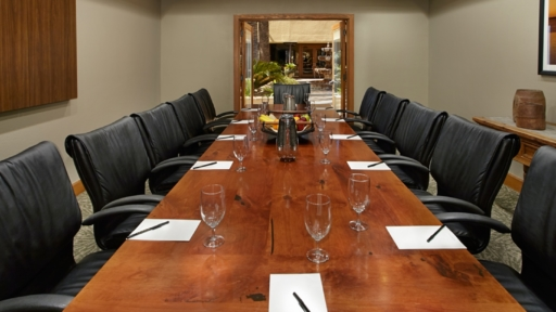 corporate meeting space at miraval arizona resort & spa