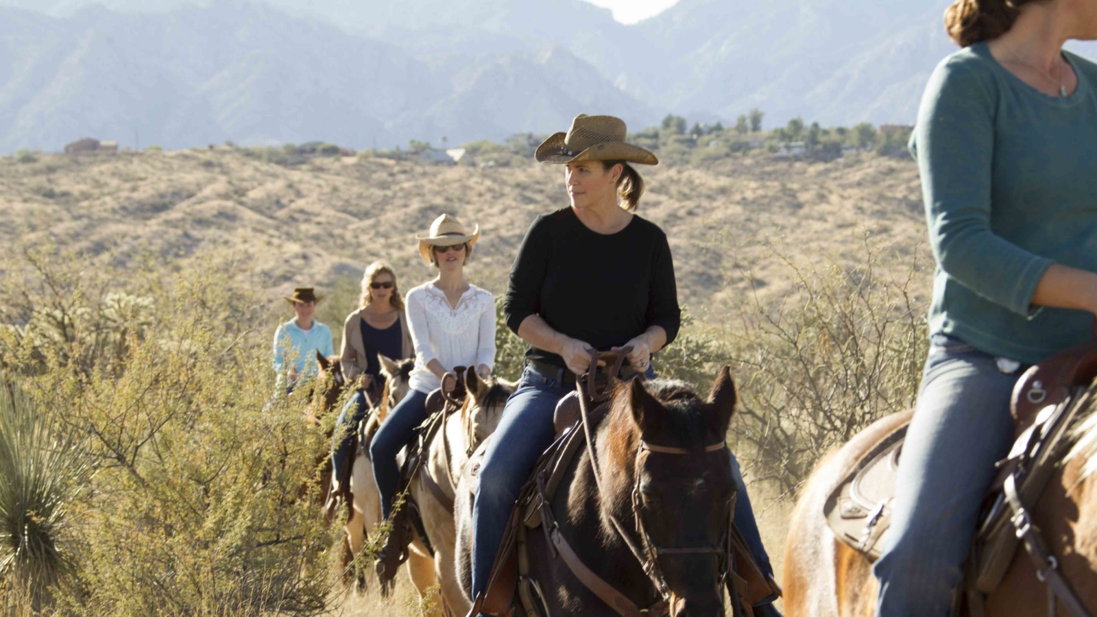 equestrians riding in tucson, arizona