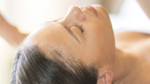 woman receiving a facial at miraval arizona resort & spa