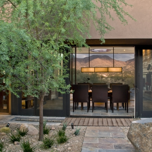 private villa dining area at miraval arizona resort & spa