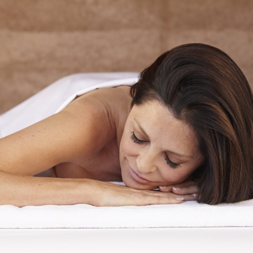 woman relaxing at life in balance spa