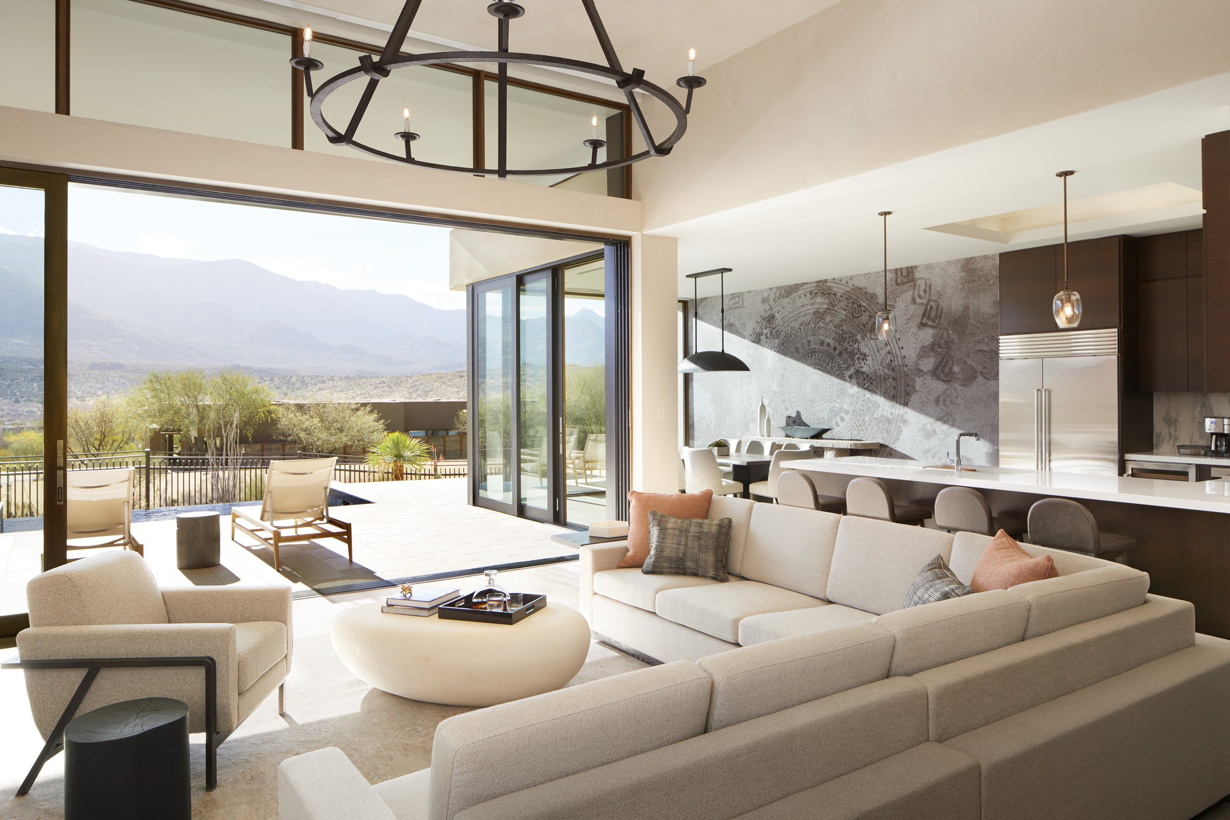 Interior of one of our exclusive resort retreats in Tucson, AZ