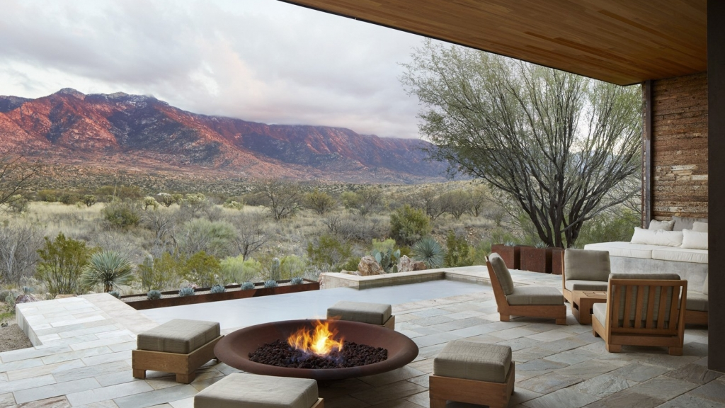 Private villa accommodations at Miraval Arizona Resort & Spa
